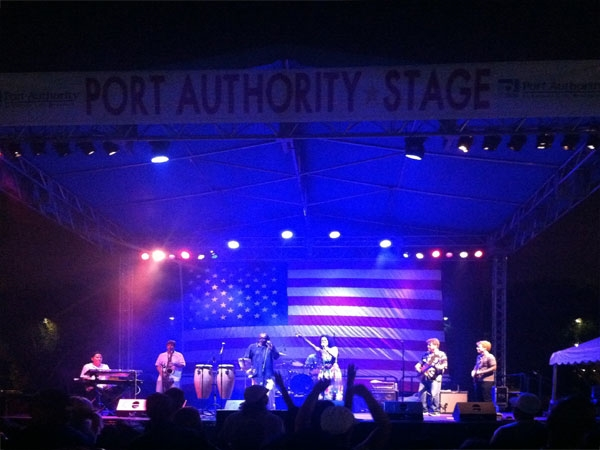 Spending the 4th of July at Riverfront Park - great concert!