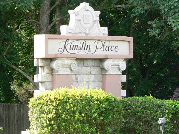 Kimstin Place is a beautiful neighborhood surrounded by nature, backing up to Fleming Park