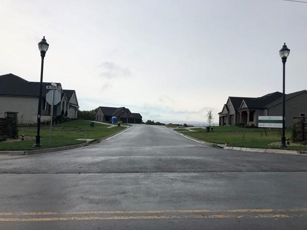 Falcon Hill Villas on a rainy day