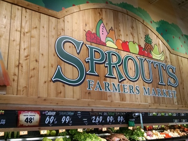 Sprouts is open!  Get your veggies