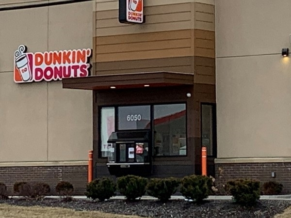 Dunkin' Donuts is a great place to stop in Gladstone