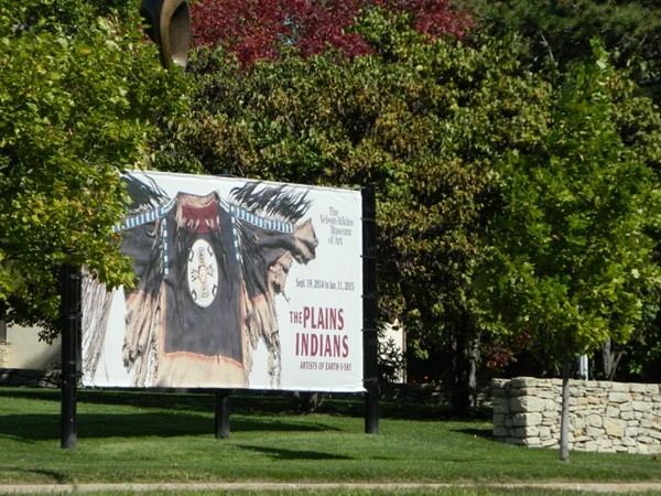 The Plains Indians now on exhibit at the Neslon-Atkins