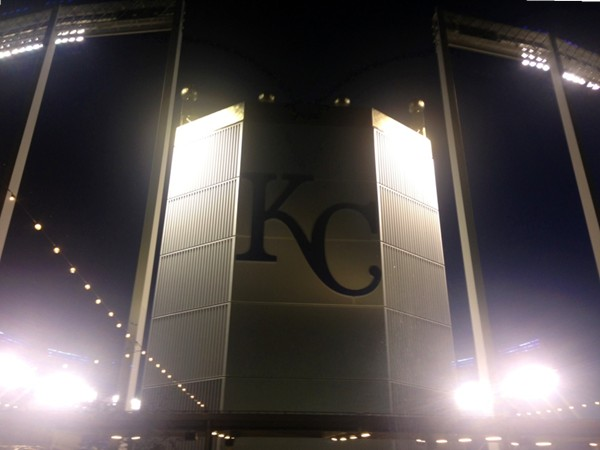 Kauffman Stadium, home baseball's Kansas City Royals