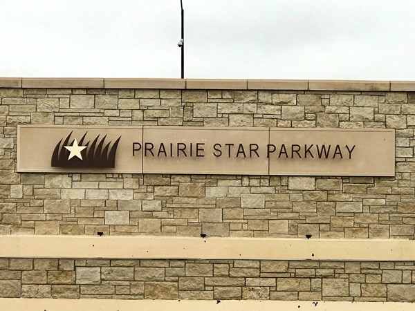 Beautiful Prairie Star Parkway in Lenexa, KS