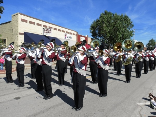 Shawnee Mission North Marching Band at the 54th Annual Overland Park Fall Festival