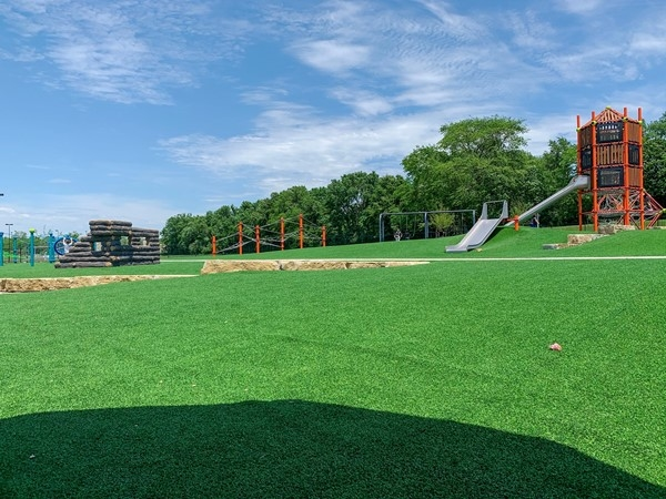 Hodge Park's new playground is a fun place to bring the kids