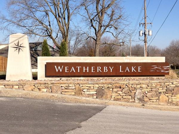 Welcome to Weatherby Lake!
