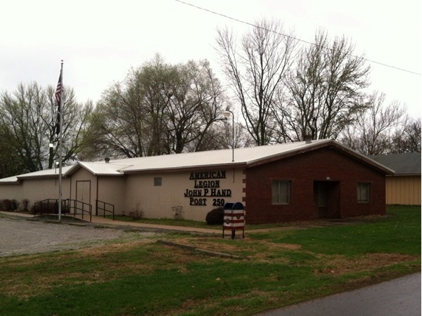 Nothing gives you a small town feel like an American Legion! Located on S. 9th Street in Louisburg