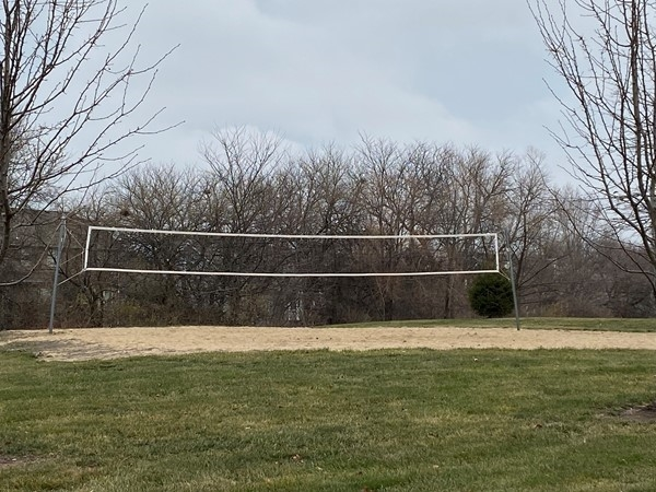 Volleyball court in Stoney Creek