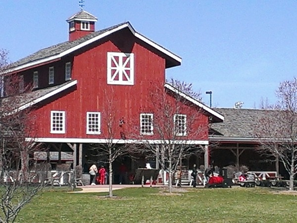 Check out the barn at Deanna Rose!