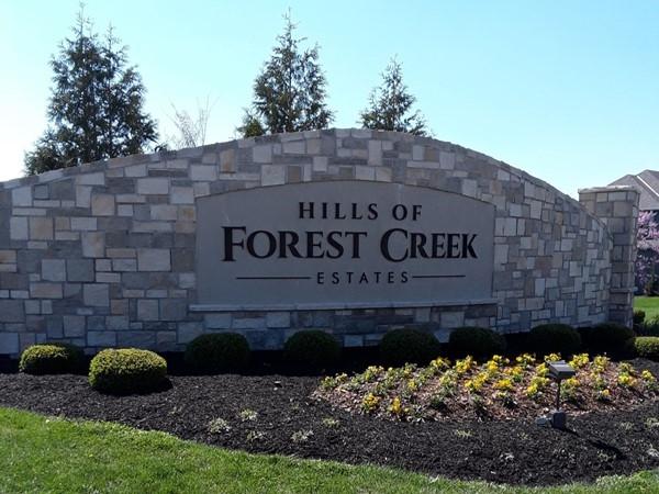 Hills of Forest Creek Community in Shawnee KS