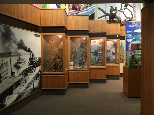 Exhibitons at the Jerry Litton Visitors Center