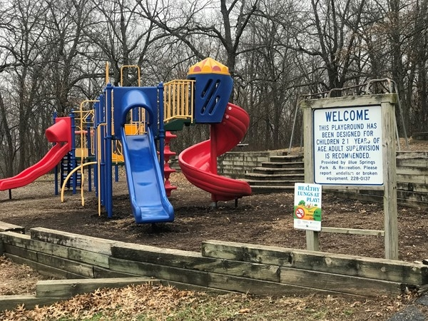 Keystone Park is a popular park, great for playing, and hosting outside get together's