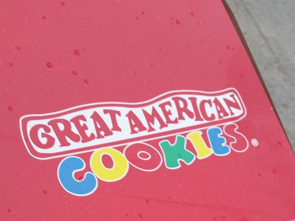One of my favorite places to go when I have a sweet tooth! Great American Cookies