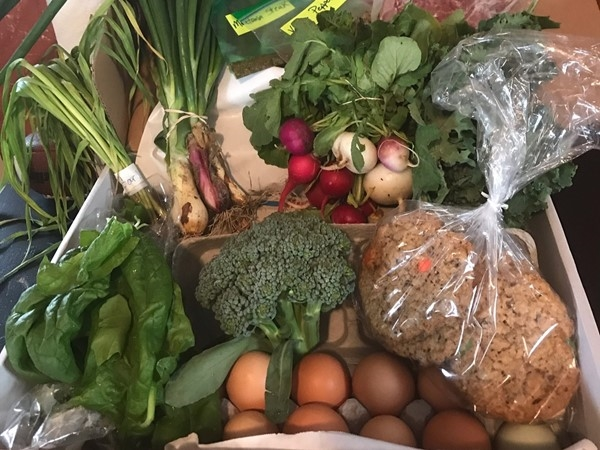 Love the farmers food boxes