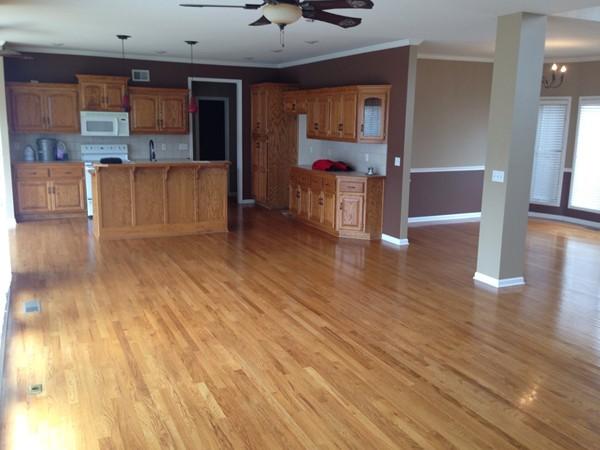 Claywoods subdivision interior layout example