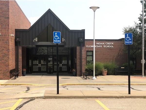 Indian Creek Elementary School is within walking distance of Indian Creek Ridge