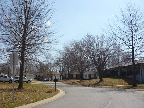 Northwest Palmer Drive from Northwest 6th Street in Country Club North