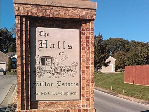 The Halls are the most recent addition to Milton Estates