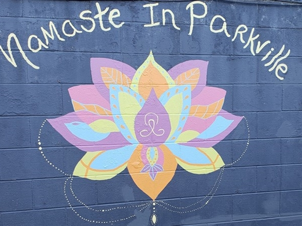 Namaste from Parkville