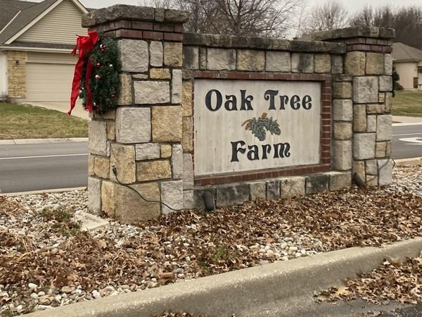 Oak Tree Farm entrance