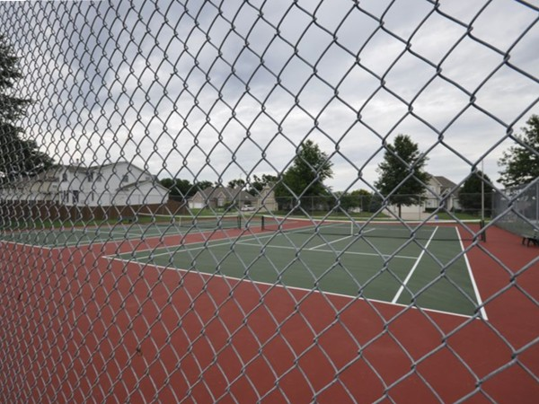 Tennis Courts at Carriage HIll Estates