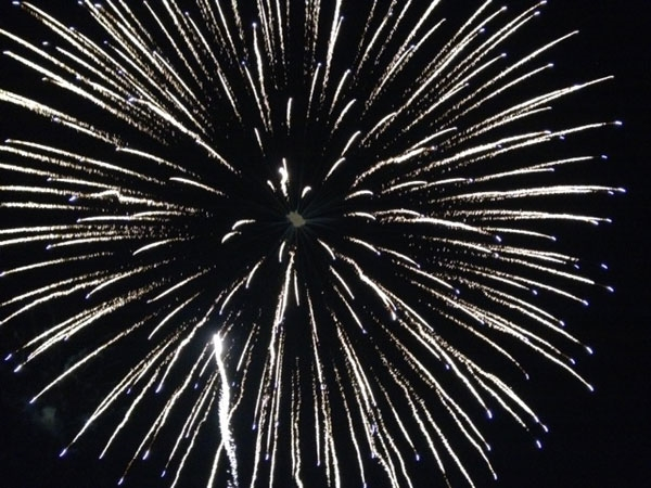 It was a beautiful night for an amazing fireworks show in Blue Springs on July 4th.