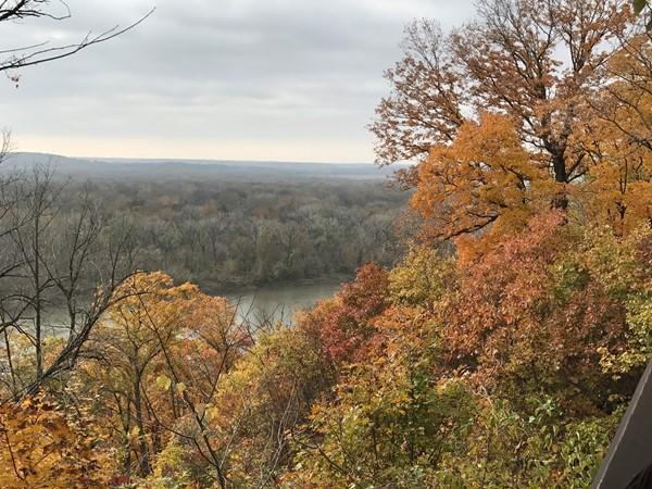 Overlook at Weston Bend State Park, Missouri River