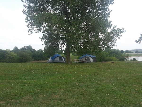 Camping at Smithville Lake