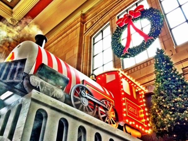 Every year at Christmas the magic of Santa and the Polar Express returns to Union Station
