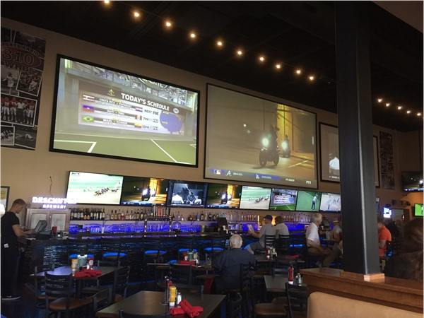 810Zone features the largest flatscreen in the KC area and dozens of TVs for your enjoyment