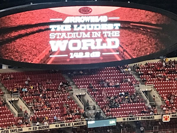 Don't forget to cheer for our hometown team at the loudest stadium in the world