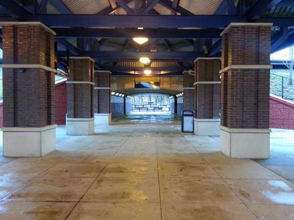 Train Station Walk Thru to Passenger Pick Up area