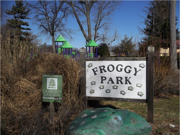 Froggy Park, a great place for toddlers to play