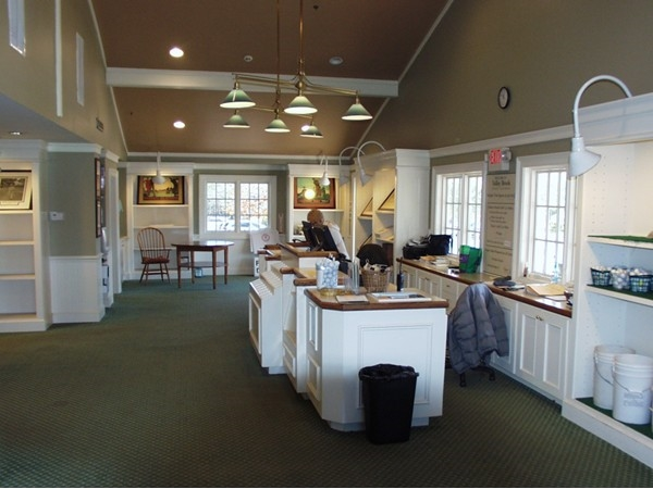Valley Brook Golf Club check-in desk