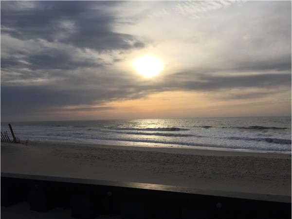 Peaceful Beach Haven sunrise