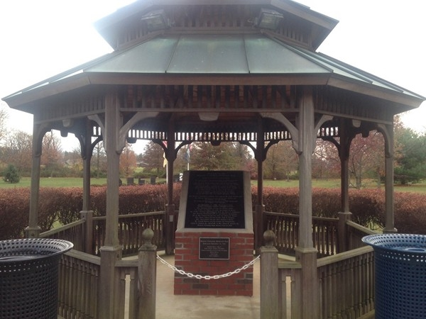 Veteran's Memorial on Prospect Plains Road In Memorial Park