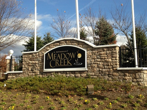 Entrance at Meadow Creek