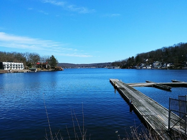 Hopatcong viewed from River Styx Bridge