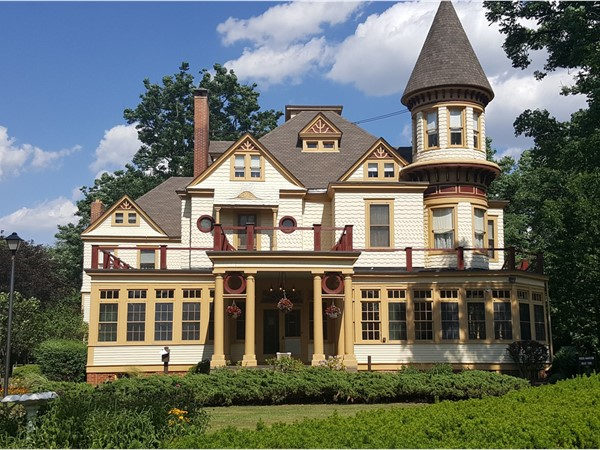 Kuser Farm Mansion is a fascinating place to tour
