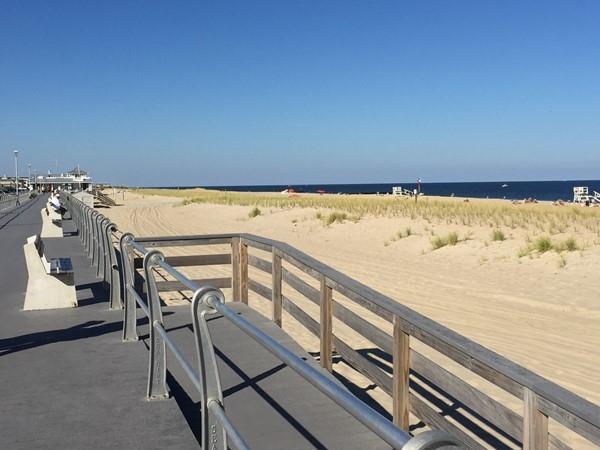 Sea Girt Beach And Boardwalk