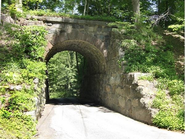 "The original ""Stone Bridge"" leading into Stonebridge Estates"