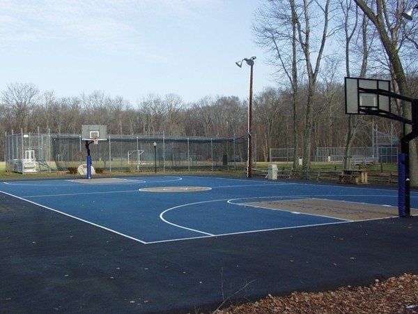 Stone Point Park basketball court