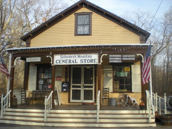 The Schooley's Mountain General Store is rich in history