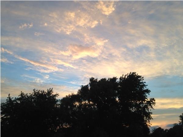 Summer sky over Manalapan