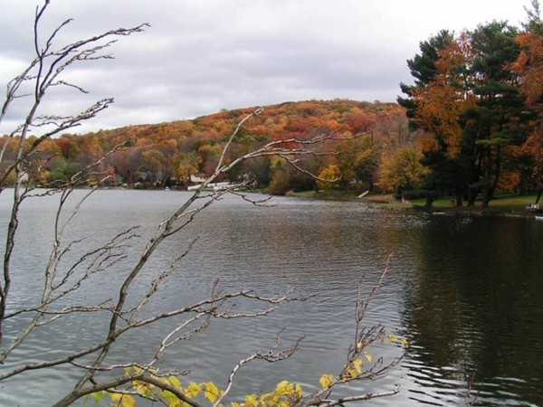 Fall in Lake Tranquility, Green Township