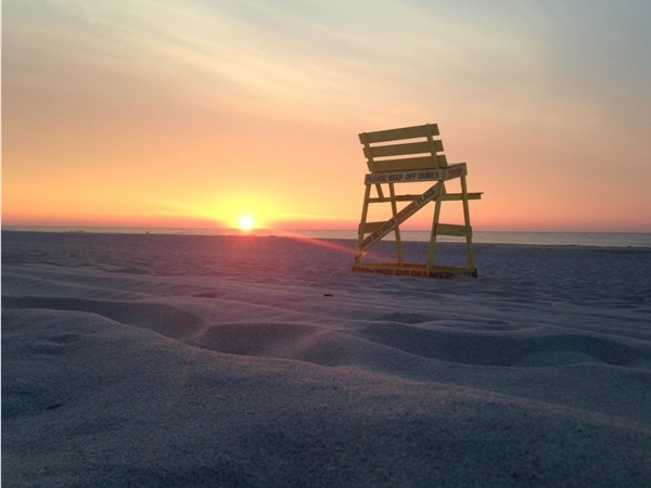 Sunrise at North Beach