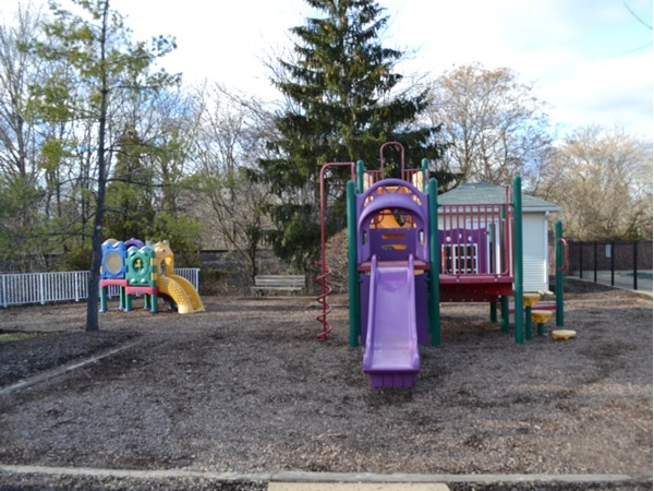 Great park for kids to play at. This is next to the fenced pool and clubhouse.
