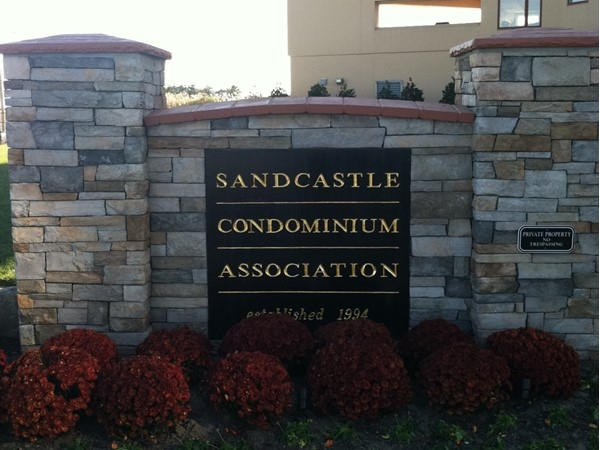 It's no surprise that there's a luxury condo building in Long Branch called The Sandcastle