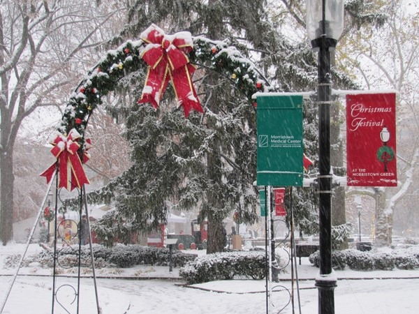Morristown Green is ready for the Holidays